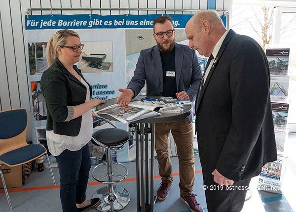 Lift Reith präsentierte Homelifte und Aufzüge auf dem VdK Gesundheitstag in Heubach