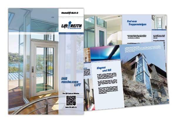 Neuer Homelifte Katalog 2015 von Lift Reith