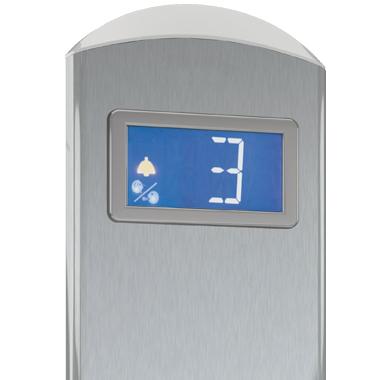 Die nummerischen Displayanzeigen der Homelifte BLH-D sind ideal, damit auch hörgeschädigte bzw. hörlose Personen wissen, in welcher Etage sie sich befinden bzw. in welche sie gelangen