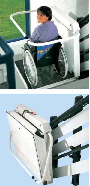 Plattformlift Modell T100 von Lift Reith