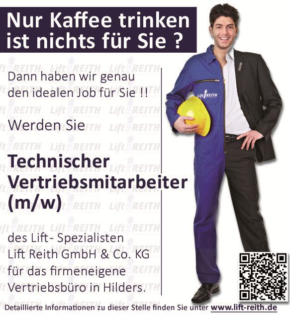 Stellenangebot Technische Vertriebsmitarbeiterin / Technischer Vertriebsmitarbeiter