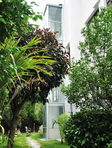 Ökologischer Homelift BLH-D von Lift Reith