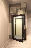 Die Homelifte der BLH-D - Reihe schmiegen sich perfekt in jede Wohnsituation ein