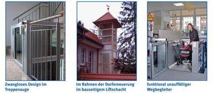 Farbgestaltung beim Volkslift BLS-V von Lift Reith