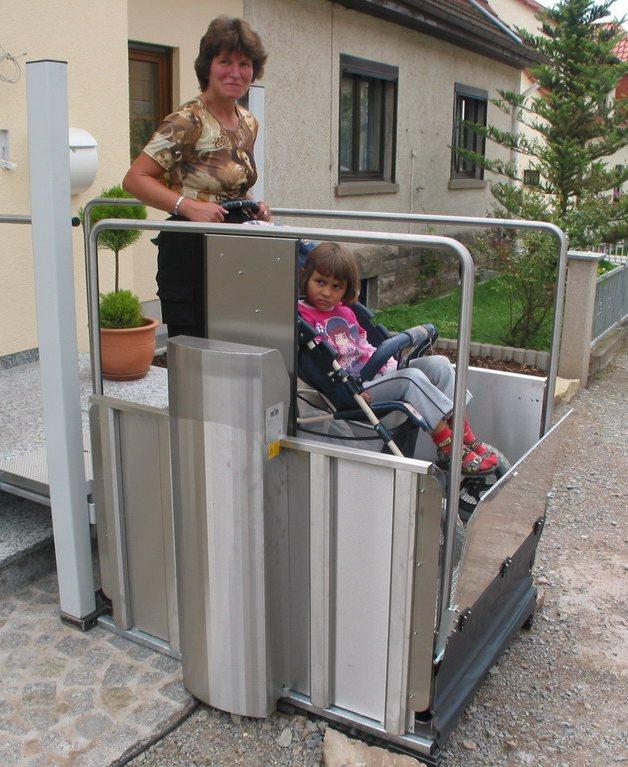 Behindertenaufzug BLM-1 von Lift Reith
