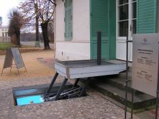 Behindertenaufzug Hydrostar von Lift Reith